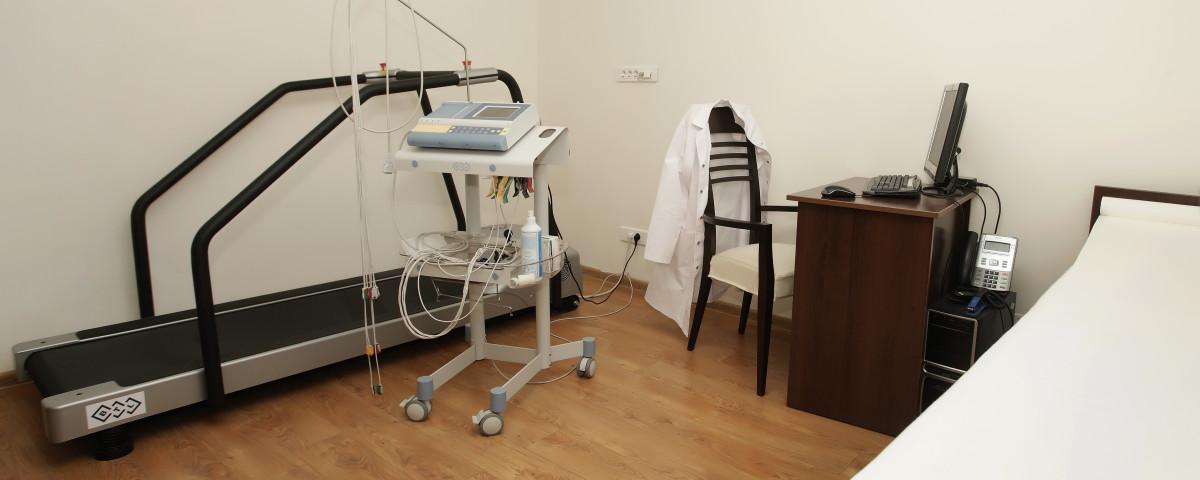 Cabinetul de Cardiologie din cadrul clinicii Medical Ocupational